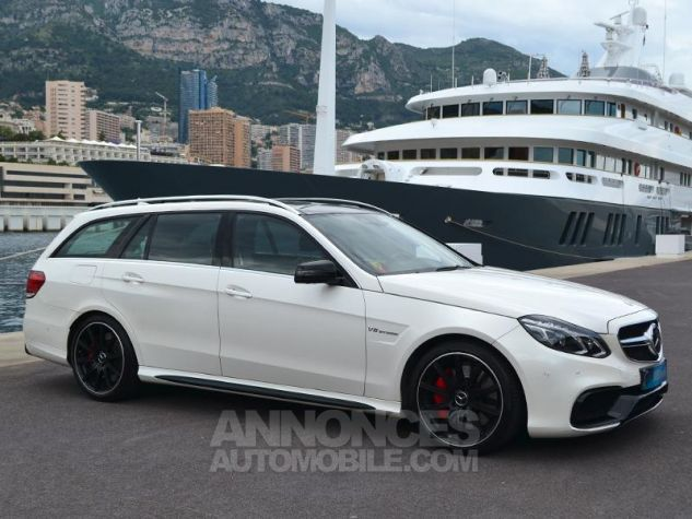 Mercedes Classe E Break 63 AMG S 4Matic 7G-Tronic Plus Blanc Diamant Occasion - 2