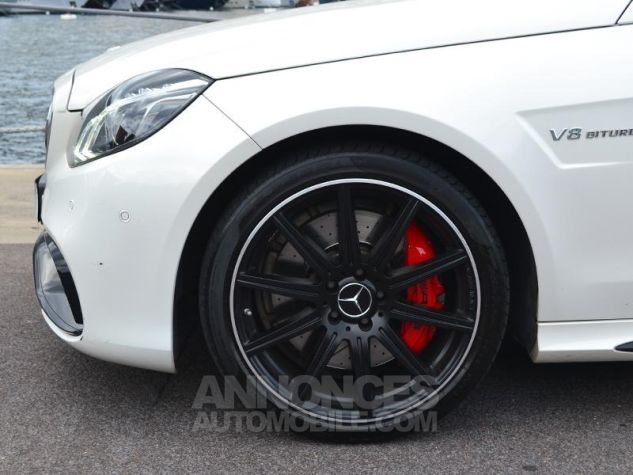 Mercedes Classe E Break 63 AMG S 4Matic 7G-Tronic Plus Blanc Diamant Occasion - 6