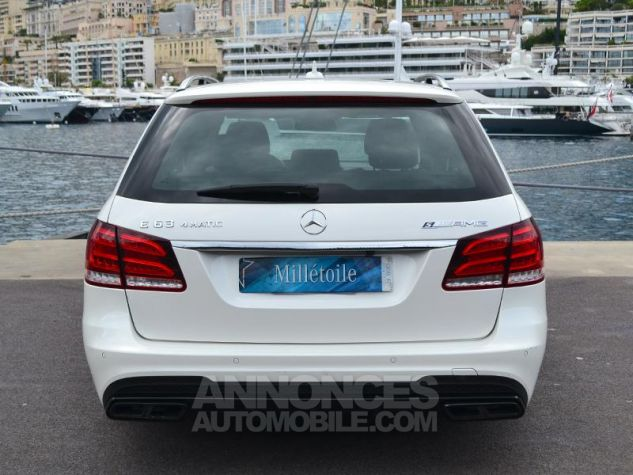 Mercedes Classe E Break 63 AMG S 4Matic 7G-Tronic Plus Blanc Diamant Occasion - 9