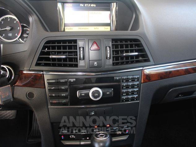 Mercedes Classe E C207 250 CDI EXECUTIVE BE BA GRIS METAL Occasion - 9