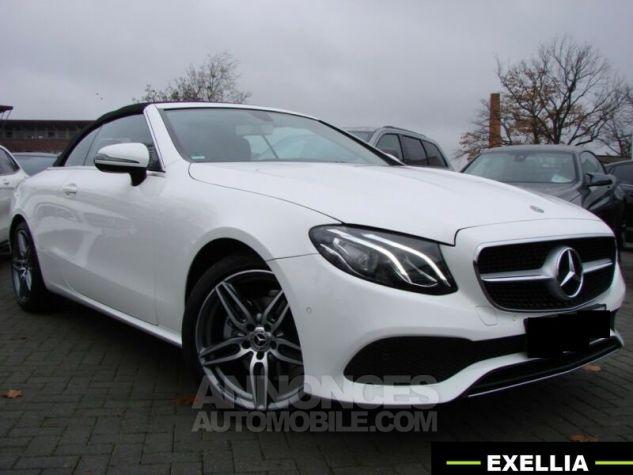 Mercedes Classe E CABRIOLET 200 SPORTLINE 9G TRONIC  BLANC Occasion - 2