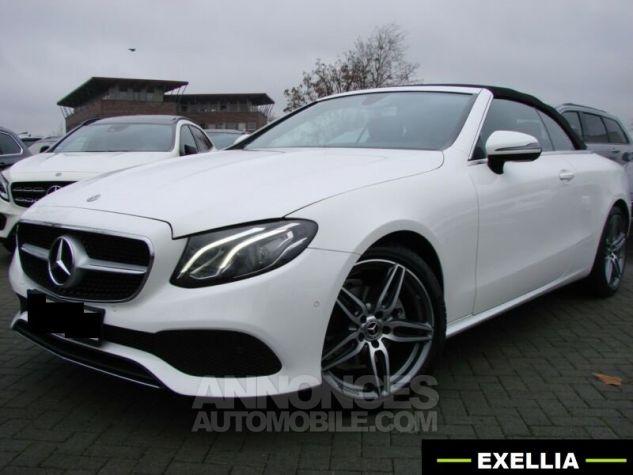 Mercedes Classe E CABRIOLET 200 SPORTLINE 9G TRONIC  BLANC Occasion - 3