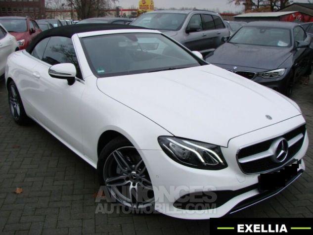 Mercedes Classe E CABRIOLET 200 SPORTLINE 9G TRONIC  BLANC Occasion - 4