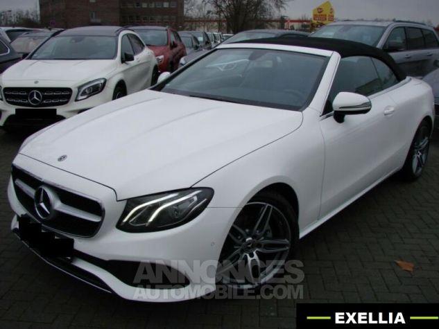Mercedes Classe E CABRIOLET 200 SPORTLINE 9G TRONIC  BLANC Occasion - 5