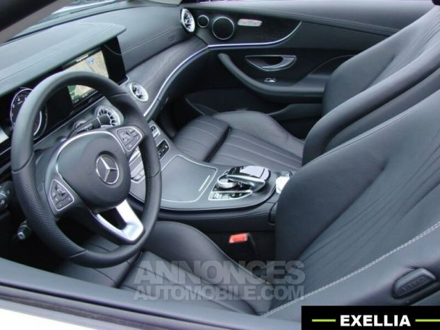 Mercedes Classe E CABRIOLET 200 SPORTLINE 9G TRONIC  BLANC Occasion - 11