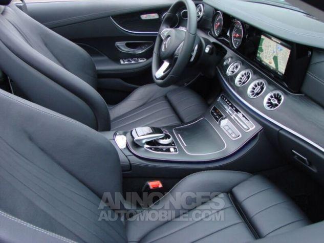 Mercedes Classe E CABRIOLET 200 SPORTLINE 9G TRONIC  BLANC Occasion - 13