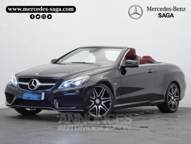Mercedes Classe E Cabriolet 350 BlueTEC Fascination 9G-TRONIC Noir Obsidienne Occasion - 0