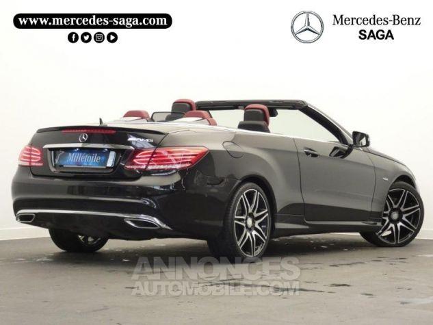 Mercedes Classe E Cabriolet 350 BlueTEC Fascination 9G-TRONIC Noir Obsidienne Occasion - 1