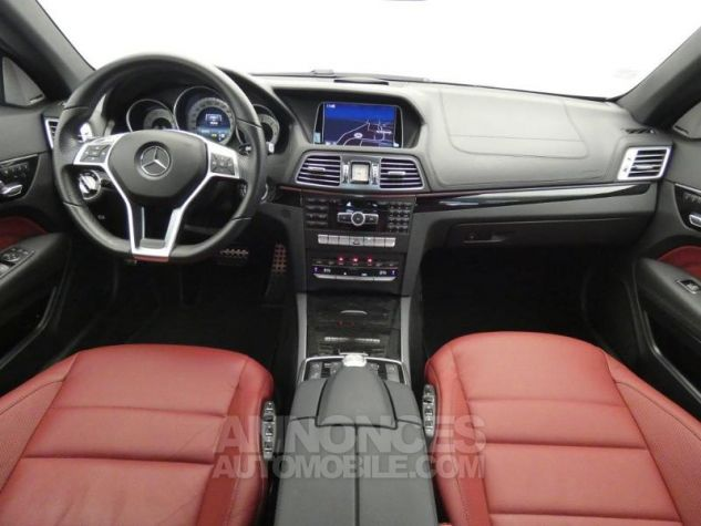Mercedes Classe E Cabriolet 350 BlueTEC Fascination 9G-TRONIC Noir Obsidienne Occasion - 2