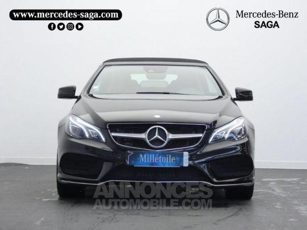 Mercedes Classe E Cabriolet 350 BlueTEC Fascination 9G-TRONIC Noir Obsidienne Occasion - 4