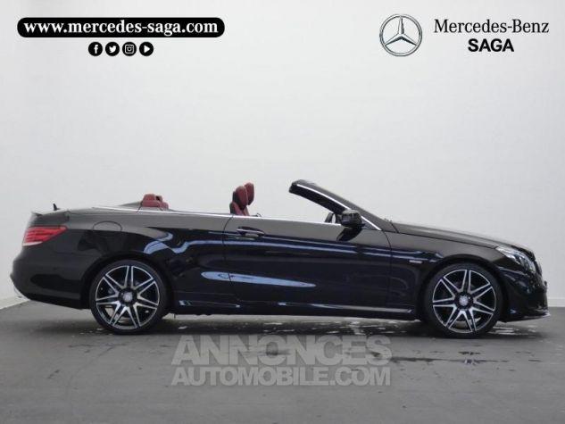 Mercedes Classe E Cabriolet 350 BlueTEC Fascination 9G-TRONIC Noir Obsidienne Occasion - 5
