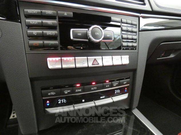 Mercedes Classe E Cabriolet 350 BlueTEC Fascination 9G-TRONIC Noir Obsidienne Occasion - 13