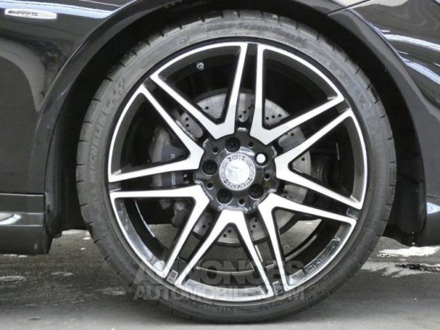 Mercedes Classe E Cabriolet 350 BlueTEC Fascination 9G-TRONIC Noir Obsidienne Occasion - 17