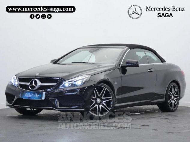 Mercedes Classe E Cabriolet 350 BlueTEC Fascination 9G-TRONIC Noir Obsidienne Occasion - 19