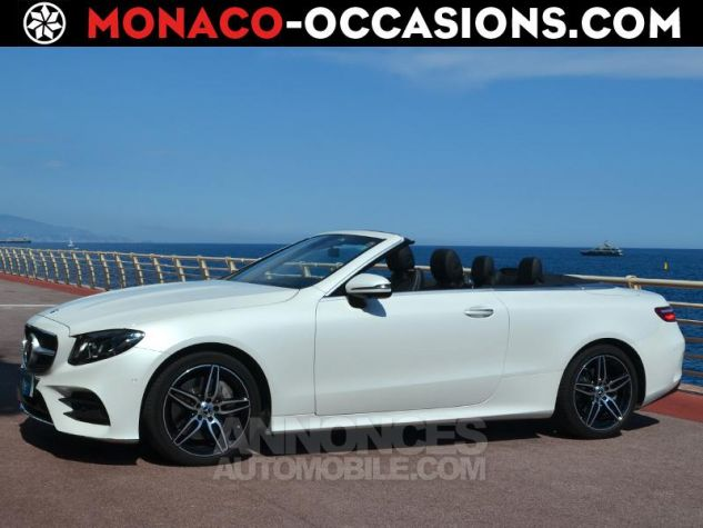 Mercedes Classe E Cabriolet 350 d 258ch Fascination 4Matic 9G-Tronic Blanc Diamant Occasion - 0