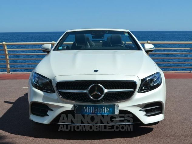 Mercedes Classe E Cabriolet 350 d 258ch Fascination 4Matic 9G-Tronic Blanc Diamant Occasion - 1