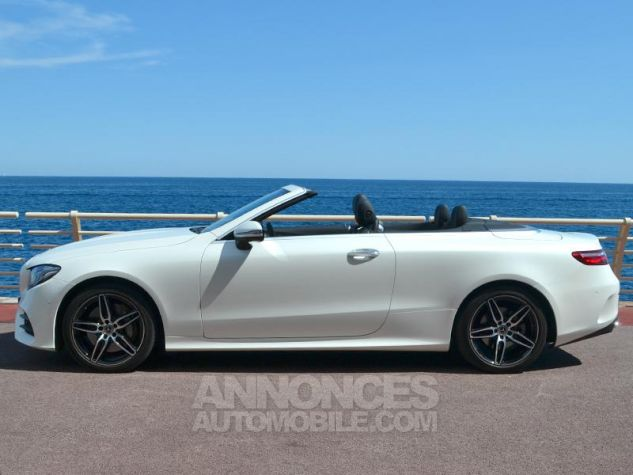 Mercedes Classe E Cabriolet 350 d 258ch Fascination 4Matic 9G-Tronic Blanc Diamant Occasion - 7
