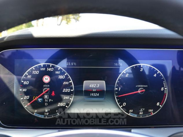 Mercedes Classe E Cabriolet 350 d 258ch Fascination 4Matic 9G-Tronic Blanc Diamant Occasion - 12