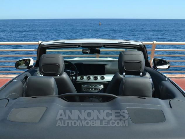 Mercedes Classe E Cabriolet 350 d 258ch Fascination 4Matic 9G-Tronic Blanc Diamant Occasion - 19
