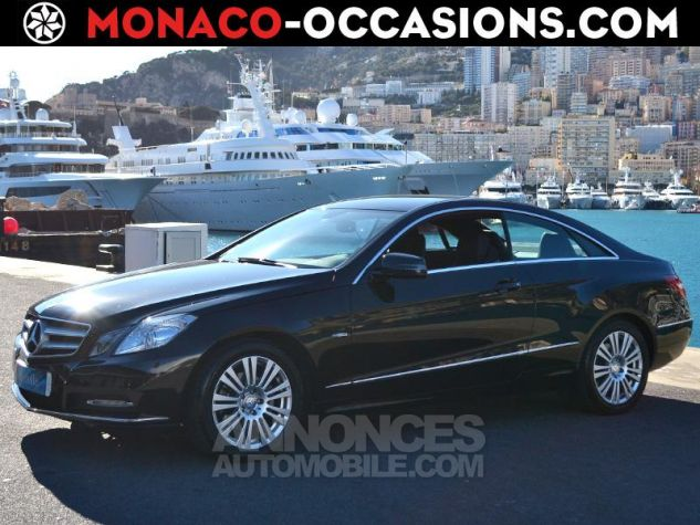 Mercedes Classe E Coupe 220 CDI BE Executive 7GTro+ Noir Obsidienne Occasion - 0