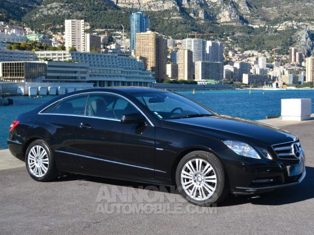 Mercedes Classe E Coupe 220 CDI BE Executive 7GTro+ Noir Obsidienne Occasion - 2
