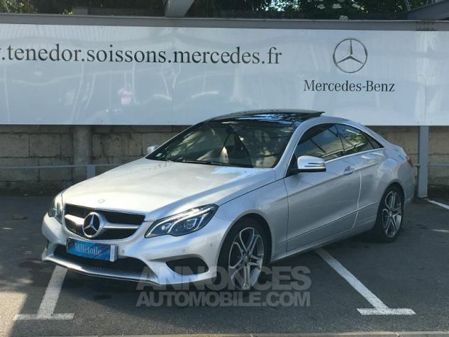 Mercedes Classe E Coupe 220 CDI Fascination 7GTronic+ ARGENT IRRIDUM Occasion - 0