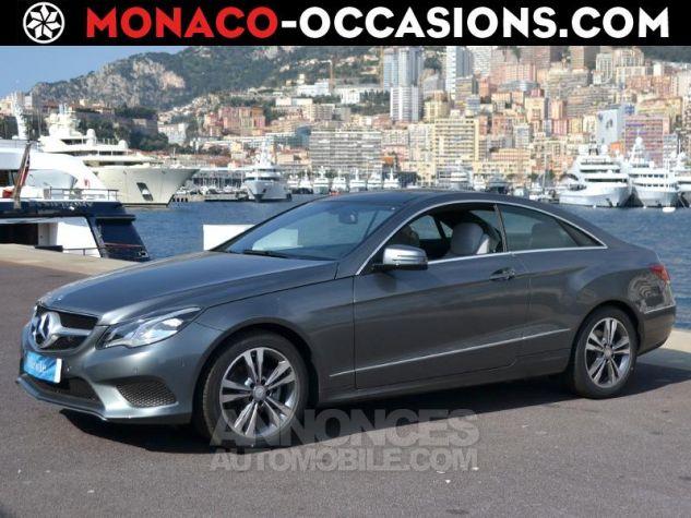 Mercedes Classe E Coupe 220 d 170ch Executive 9G-TRONIC Gris Foncé Métal Occasion - 0