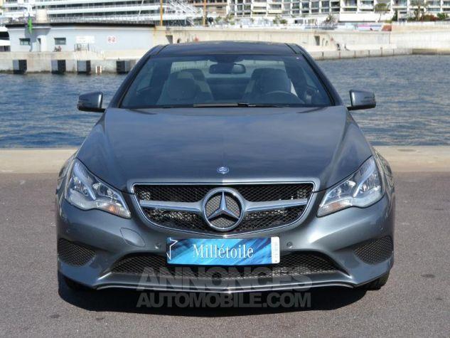 Mercedes Classe E Coupe 220 d 170ch Executive 9G-TRONIC Gris Foncé Métal Occasion - 1