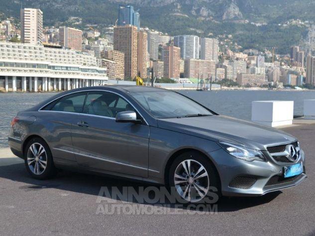 Mercedes Classe E Coupe 220 d 170ch Executive 9G-TRONIC Gris Foncé Métal Occasion - 2
