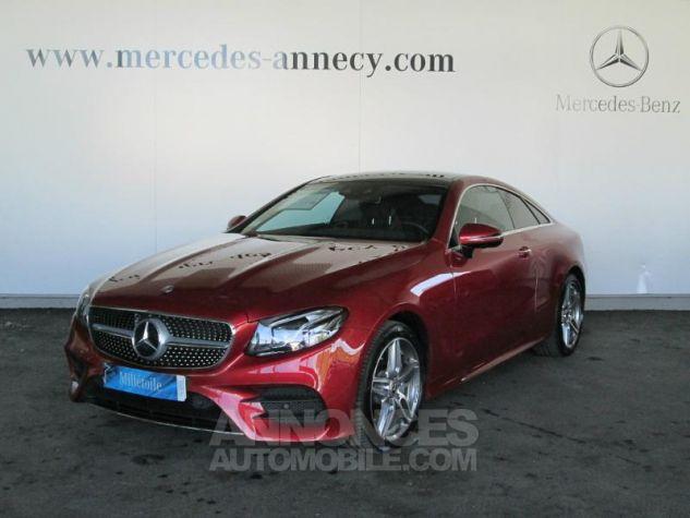 Mercedes Classe E Coupe 220 d 194ch Fascination 9G-Tronic rouge jacinthe Occasion - 0
