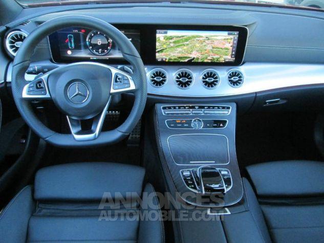 Mercedes Classe E Coupe 220 d 194ch Fascination 9G-Tronic rouge jacinthe Occasion - 4