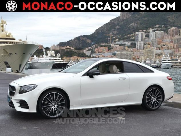 Mercedes Classe E Coupe 220d 4 Matic Fascination Designo Blanc Diamant Occasion - 0