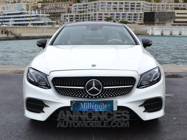 Mercedes Classe E Coupe 220d 4 Matic Fascination Designo Blanc Diamant Occasion - 1
