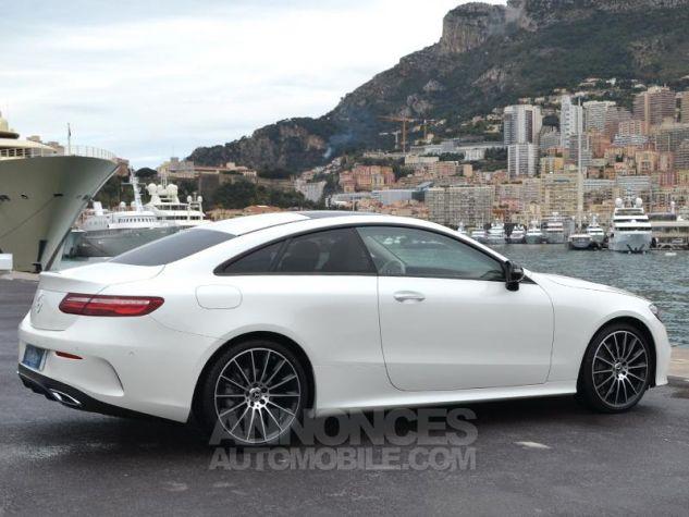 Mercedes Classe E Coupe 220d 4 Matic Fascination Designo Blanc Diamant Occasion - 10