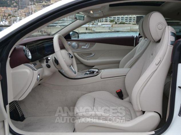 Mercedes Classe E Coupe 220d 4 Matic Fascination Designo Blanc Diamant Occasion - 17