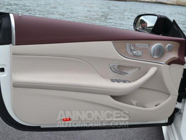 Mercedes Classe E Coupe 220d 4 Matic Fascination Designo Blanc Diamant Occasion - 19
