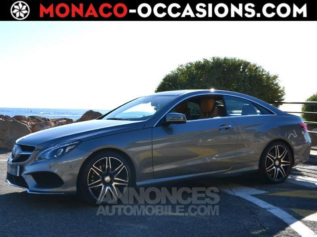 Mercedes Classe E Coupe 350 Fascination 4Matic 7G-TRONIC PLUS Argent Palladium Occasion - 0