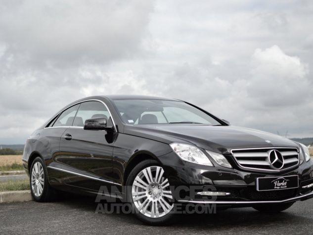 Mercedes Classe E E200 CGI COUPE BLUEEFFICIENCY NOIR Occasion - 1