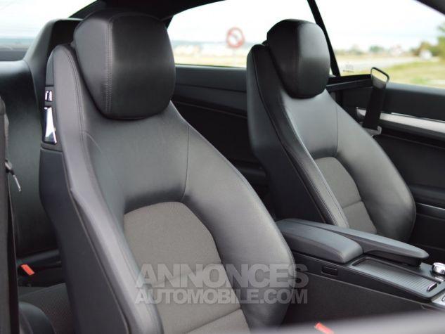 Mercedes Classe E E200 CGI COUPE BLUEEFFICIENCY NOIR Occasion - 13