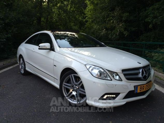 Mercedes Classe E E350 CDi 231 7G-TRONIC AMG PACK  BLANC Occasion - 0