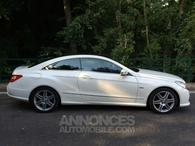 Mercedes Classe E E350 CDi 231 7G-TRONIC AMG PACK  BLANC Occasion - 1
