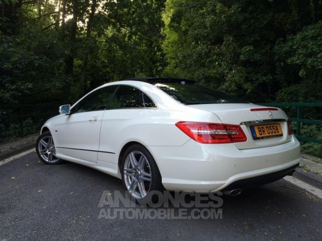 Mercedes Classe E E350 CDi 231 7G-TRONIC AMG PACK  BLANC Occasion - 2