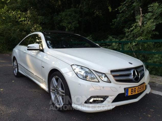 Mercedes Classe E E350 CDi 231 7G-TRONIC AMG PACK  BLANC Occasion - 3