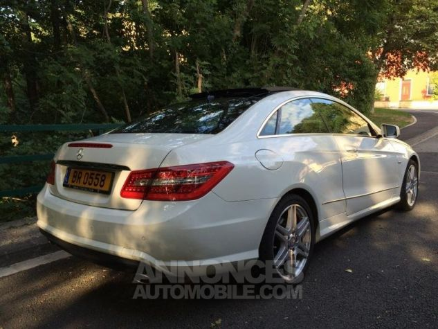 Mercedes Classe E E350 CDi 231 7G-TRONIC AMG PACK  BLANC Occasion - 4