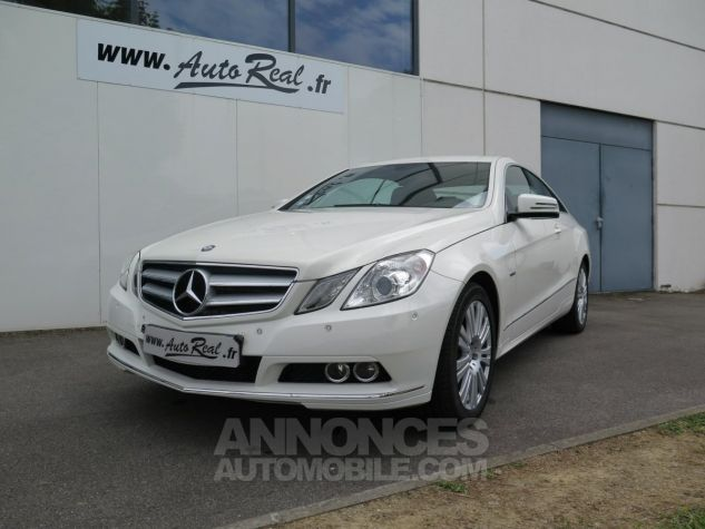 Mercedes Classe E E350CDI Coupé Blueefficiency 7G-Tronic Blanc Occasion - 1