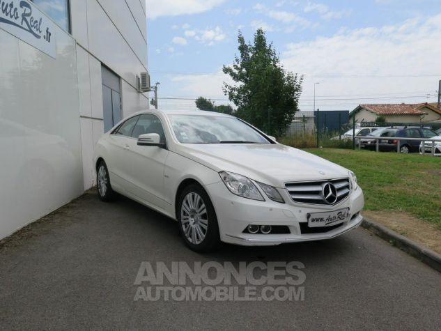Mercedes Classe E E350CDI Coupé Blueefficiency 7G-Tronic Blanc Occasion - 2