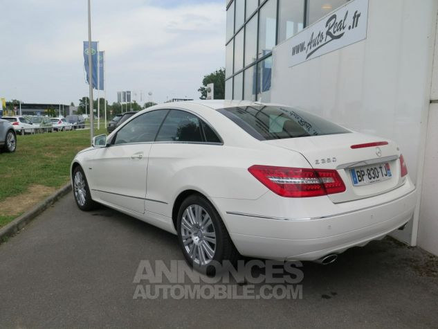 Mercedes Classe E E350CDI Coupé Blueefficiency 7G-Tronic Blanc Occasion - 3