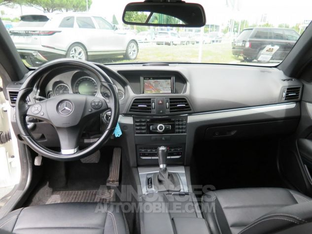 Mercedes Classe E E350CDI Coupé Blueefficiency 7G-Tronic Blanc Occasion - 5