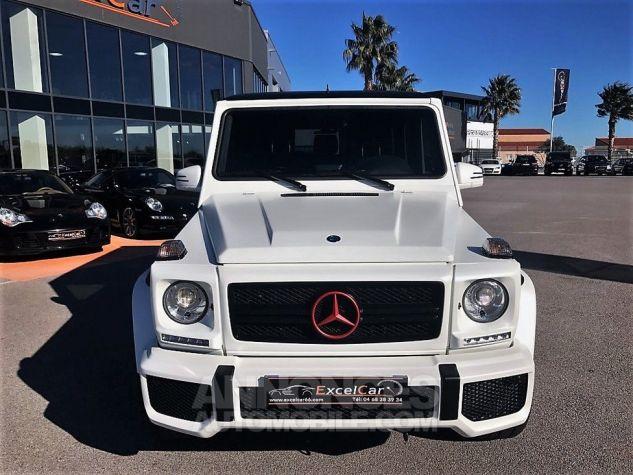 Mercedes Classe G 63 AMG LONG 7G-TRONIC SPEEDSHIFT PLUS BLANC DIAMANT NACRE Occasion - 4