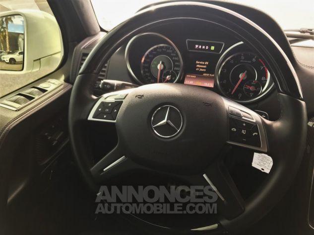 Mercedes Classe G 63 AMG LONG 7G-TRONIC SPEEDSHIFT PLUS BLANC DIAMANT NACRE Occasion - 11